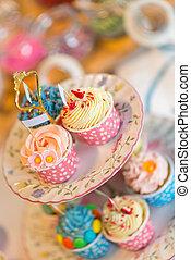 estante, cupcake