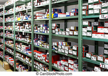estante del almacenaje