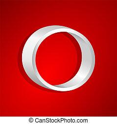 estante, forma, círculo