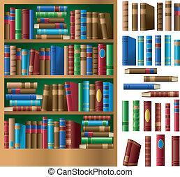 estante libros