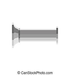 estante, monumento, pedestal, illustration., isolated., ...