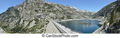 Estany de Cavallers in the Spanish Pyrenees