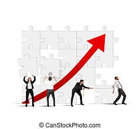 estatísticas, aumento, equipe