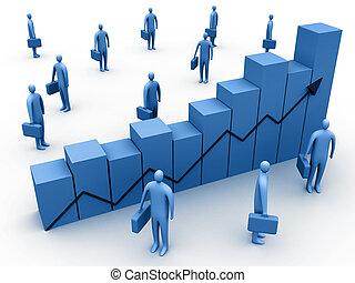 estatísticas, negócio