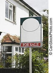 Estate Agent for sale Sign