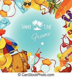 estate, cornice, vacanze