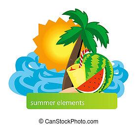estate, disegno