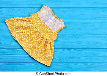 estate, dress., naturale, bambini primi passi