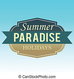 estate, etichetta