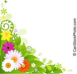 estate, fiori