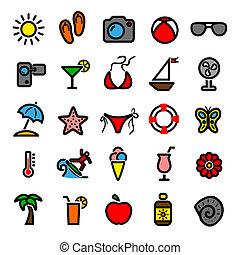 estate, icone
