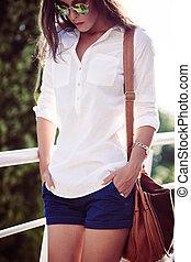 estate, moda