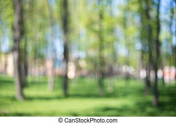 estate, natura, primavera, Estratto, stagione, o