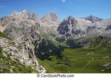 estate, paesaggio, alpino