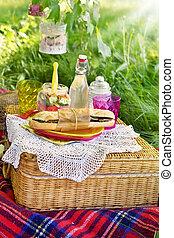 estate, picnic, tempo