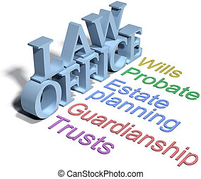 Services of estate planning attorney wills trusts probate