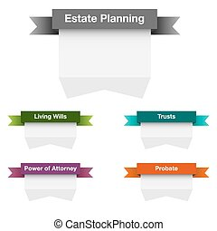 Estate Planning Icon Set