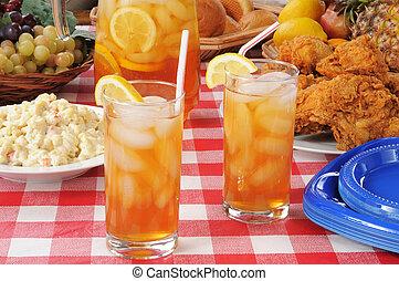 estate, pranzo picnic