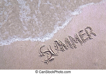estate, spiaggia