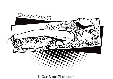estate, sports., generi, nuoto