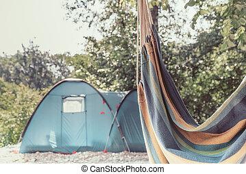 estate, theme., riposare, viaggiare, posto, nature.