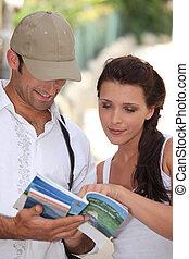 estate, turisti