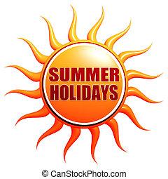 estate, vacanze