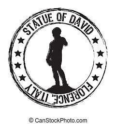 estatua, david