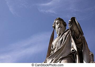 estatua, santo paul