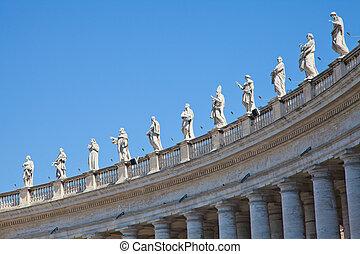 estatuas, vaticano