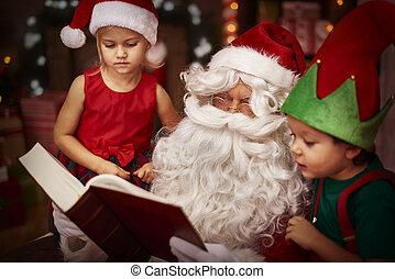 este, é, real, história christmas