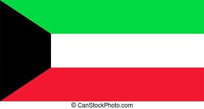 este, country., vector, medio, fondo., bandera, ilustración...