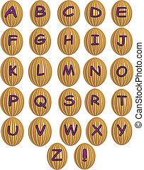 Ester alphabet