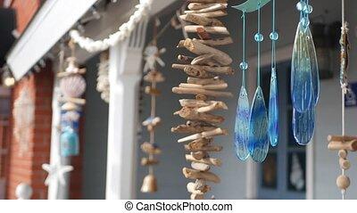 esthétique, style, seashells, californie, vacances, nautique...