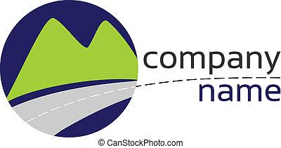 estilizado, logotipo
