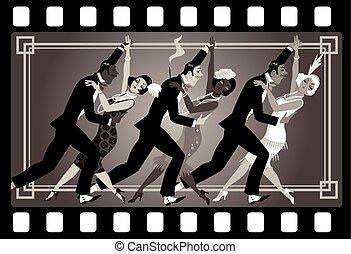 estilo 1920s, partido