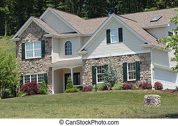 estilo colonial, hogar