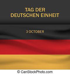 estilo, conceito, alemão, realístico, fundo, dia, independência