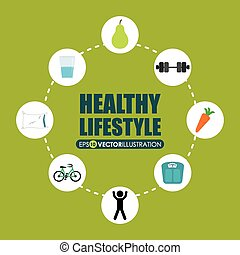 estilo de vida, sano