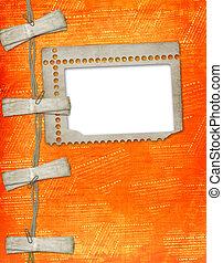 estilo,  Grunge, marco, viejo, papel, Plano de fondo,  scrapbooking, Extracto