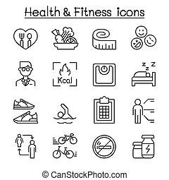 estilo, jogo, dieta, brejo, condicão física, linha magra, ícone