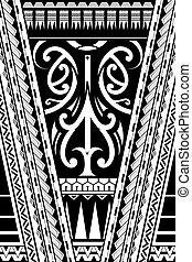 estilo, ornamento, polynesian