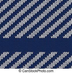 estilo, seamless, azul, branca, padrão