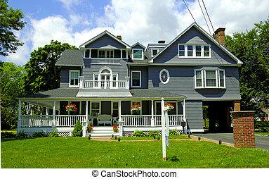 estilo victoriano, hogar
