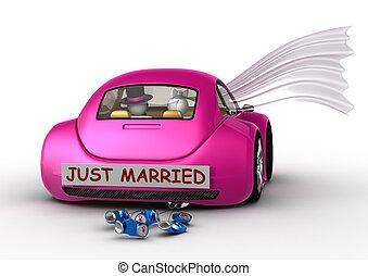 estilo vida, cobrança, -, casado apenas, carro