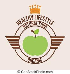 estilo vida saudável, desenho