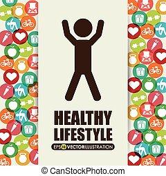 estilo vida, saudável