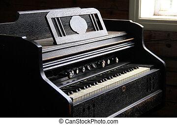 estilo viejo, piano
