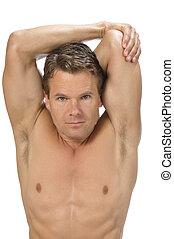 estirar, tríceps