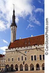 estonia., cidade velha, tallinn